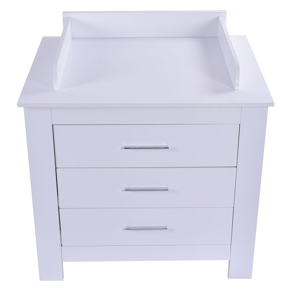 Baby Changing Table Nursery Diaper Station Dresser Infant Storage 3 Drawer Us