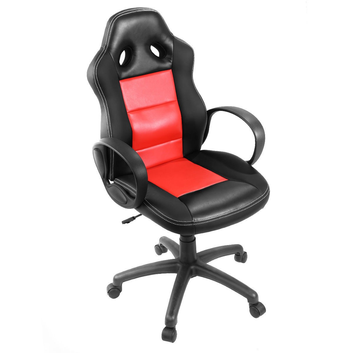 Attirant Office High Back Race Car Style Bucket Seat Desk Chair Gaming Chair PU  Leather | EBay