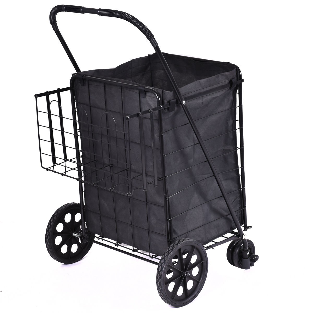 laundry cart on wheels us travel shopping cart jumbo size basket with wheels for 28944