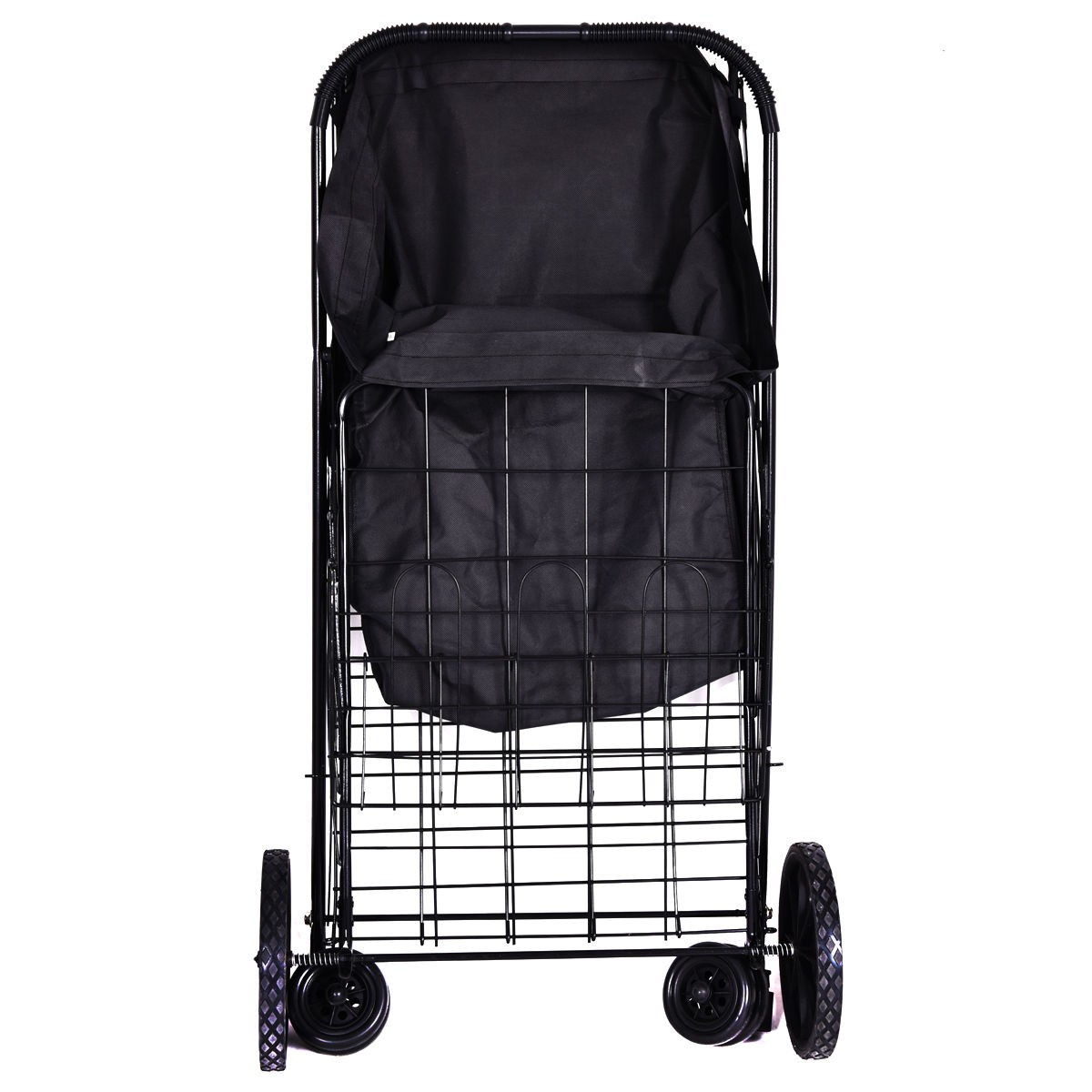 laundry cart on wheels jumbo size basket folding shopping cart with wheels for 10536