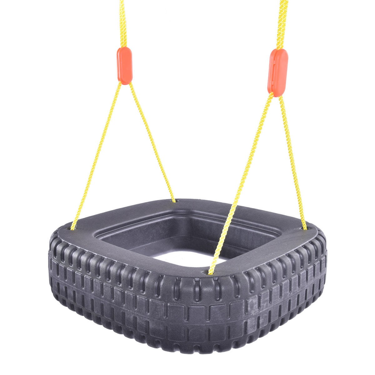Classic Tire Swing 2 Kids Children Outdoor Play Durable Backyard