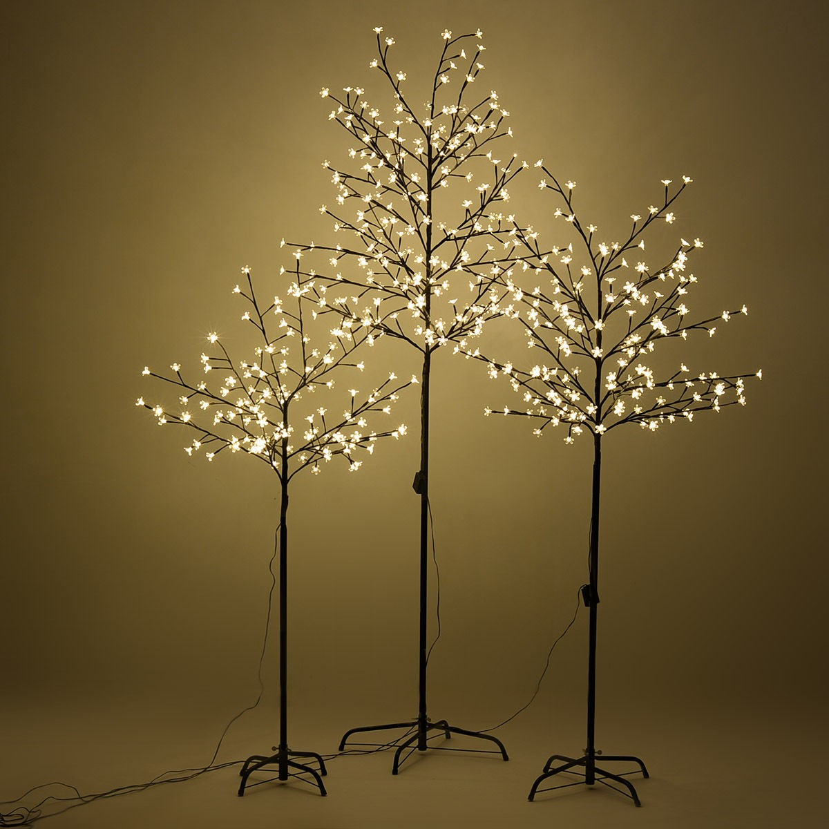 Us Home Christmas Cherry Blossom Led Tree Light Floor Lamp