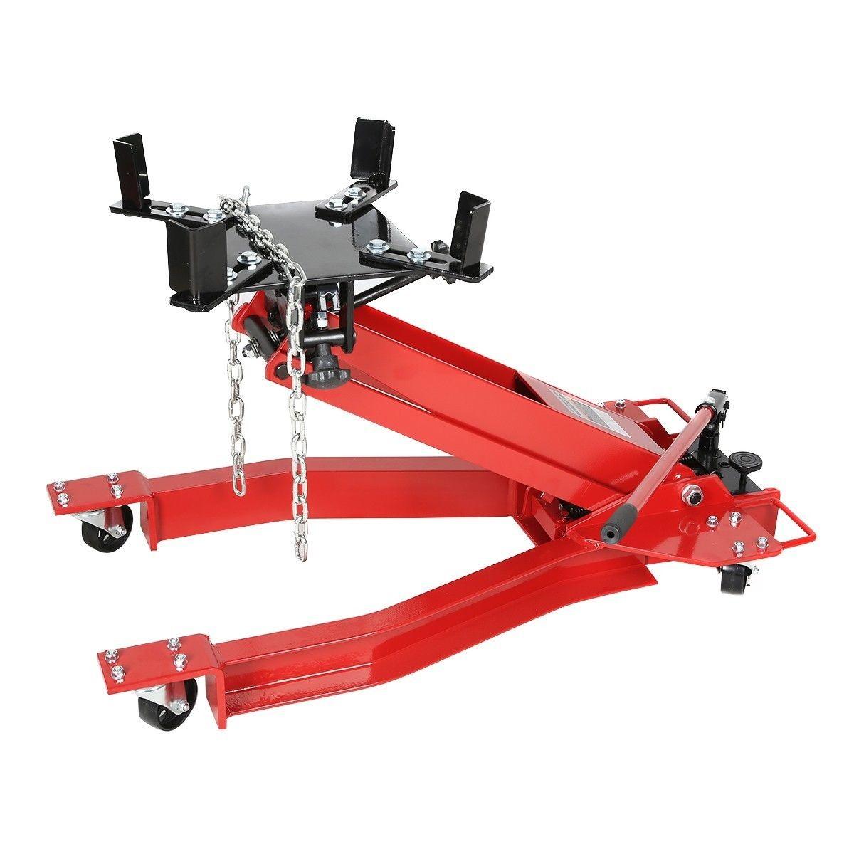 Automotive Lifts And Jacks : Lb ton transmission jack hydraulic for car lift