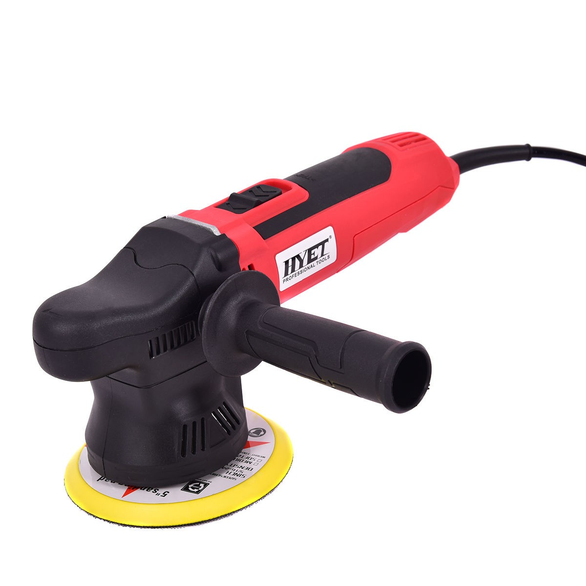 "Dual-Action 5"" Variable Speed Polisher Random Orbital Polisher Kit Auto Detail 