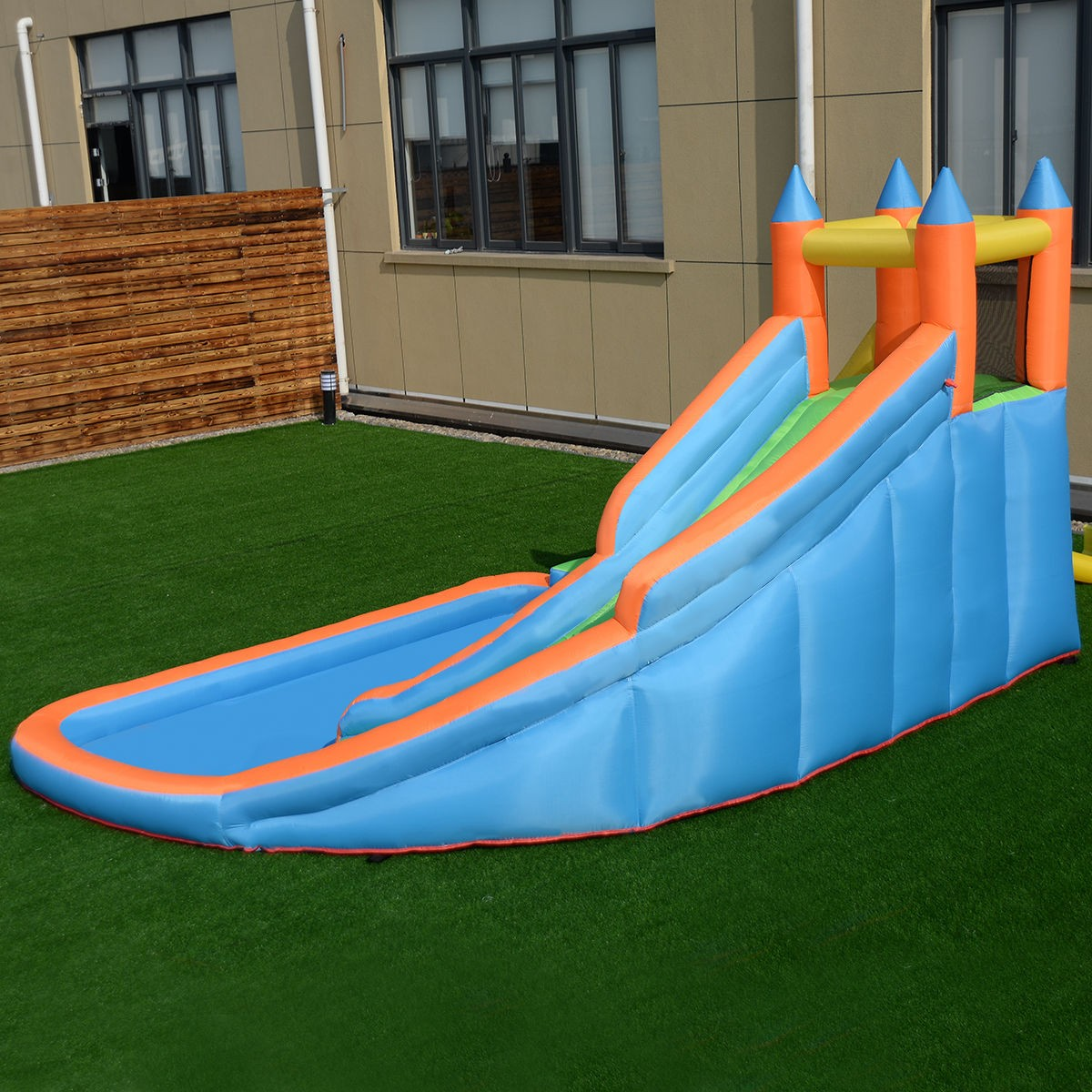 Inflatable Slide Blower: Inflatable Mighty House Bounce Jumper Castle Moonwalk