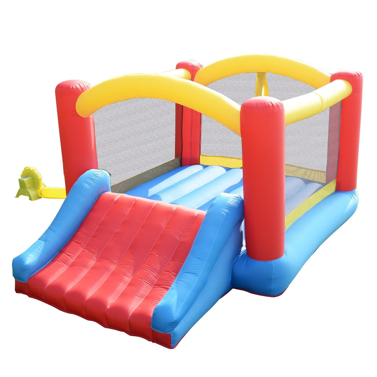 Inflatable Slide Where To Buy: Mighty Bounce House Inflatable Castle Moonwalk Without