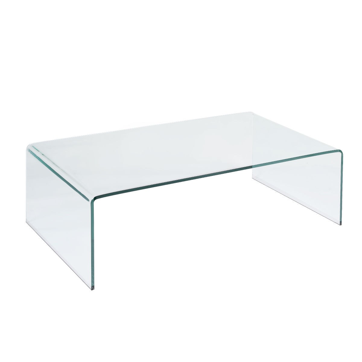 New tempered glass coffee table accent cocktail side table for Tempered glass coffee table
