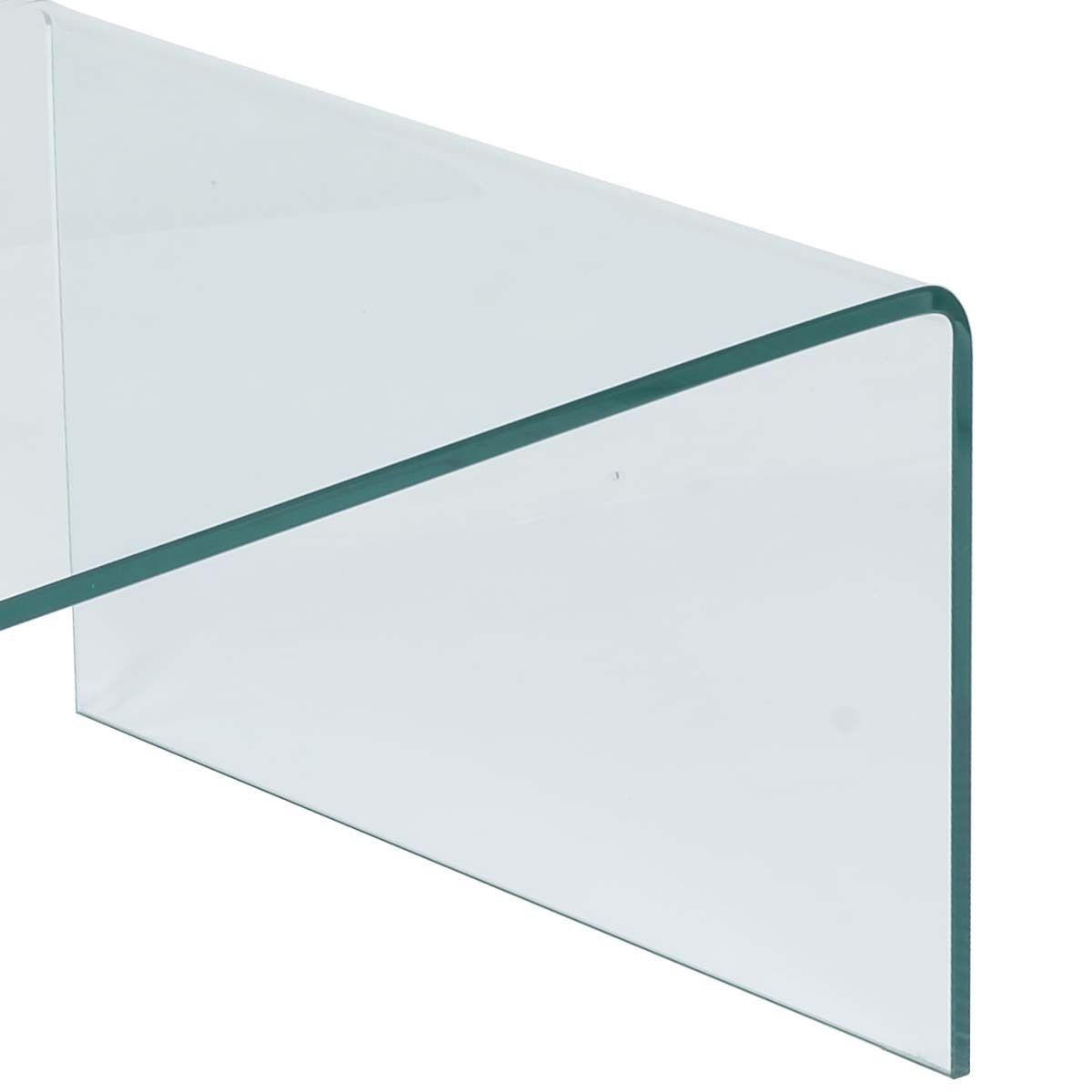 New Tempered Glass Coffee Table Accent Cocktail Side Table Living Room Furniture Ebay
