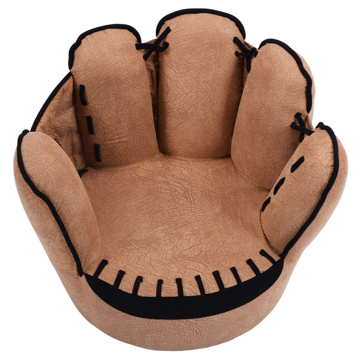 Kids sofa baseball golves armrest chair couch children Baseball sofa