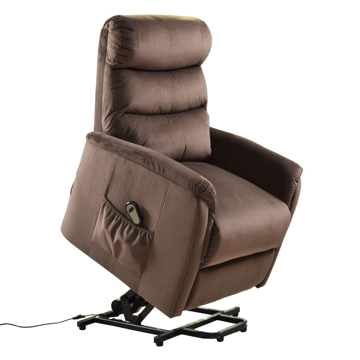 Luxury Power Lift Chair Recliner Armchair Electric Fabric