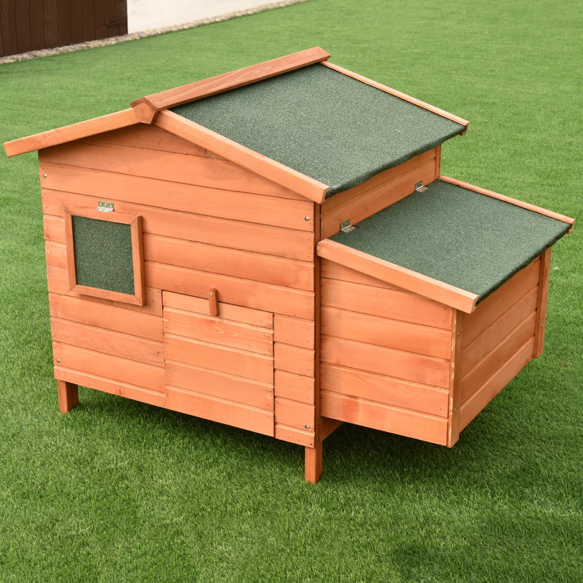 W 45 Wooden Rabbit Hutch Small Animal House Pet Rabbit Hens Furniture Wood Play Ebay