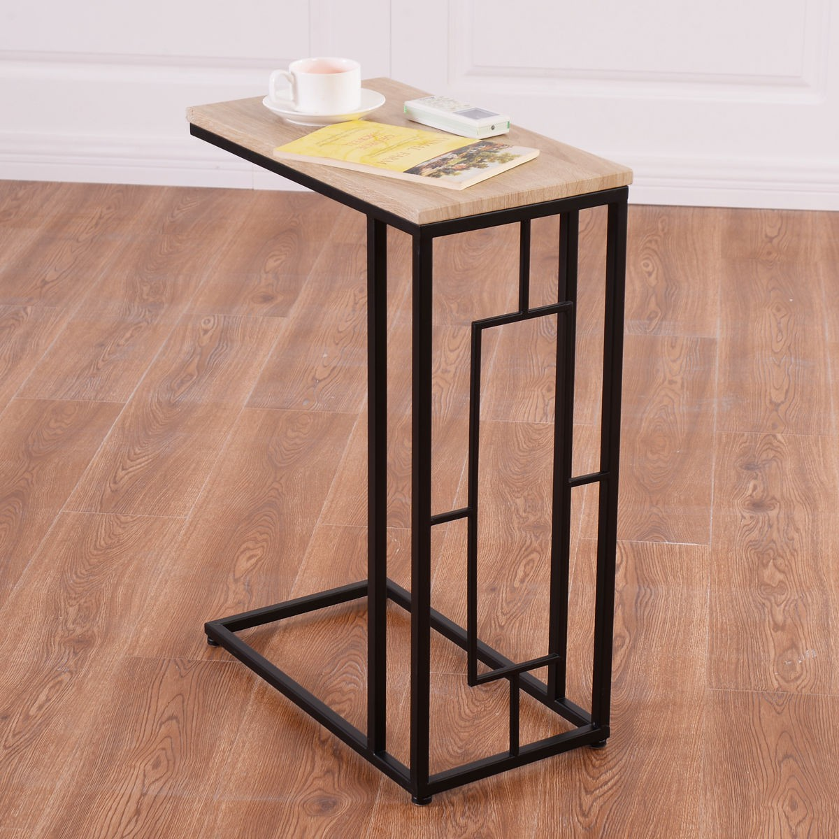 Modern Coffee Table Side End Table Lamp Sofa Square Steel