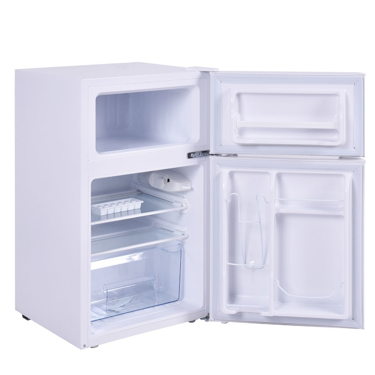 White Color 3 2 cu ft Mini Refrigerator and Freezer Small pact fice Frid