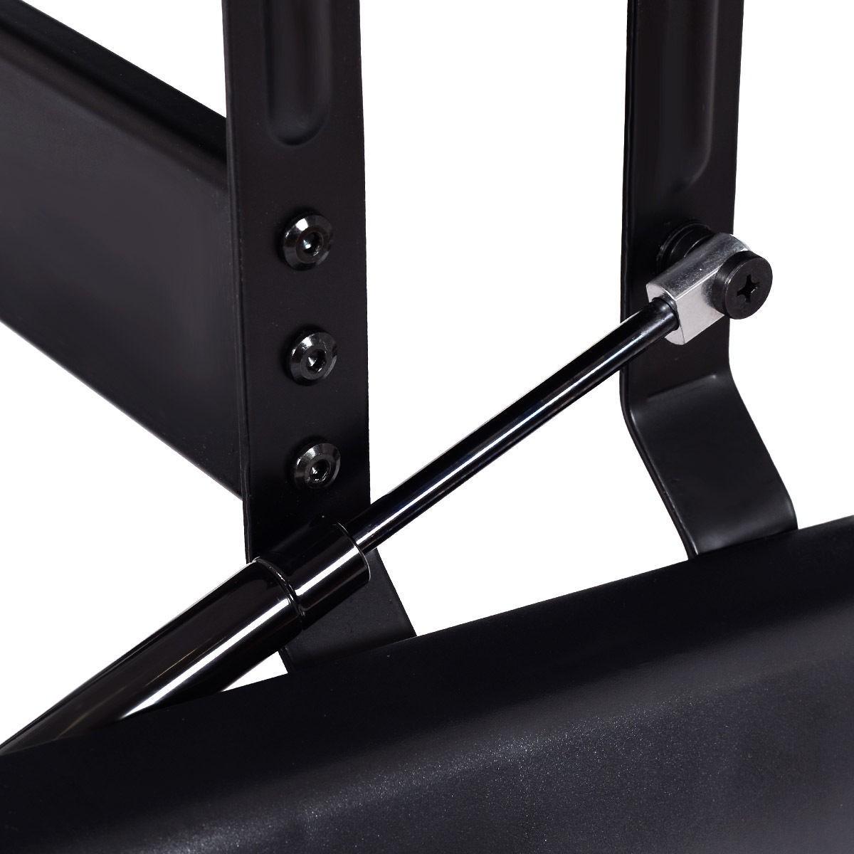 6 level height adjustable ergonomic sit stand computer desk laptop workstation ebay. Black Bedroom Furniture Sets. Home Design Ideas
