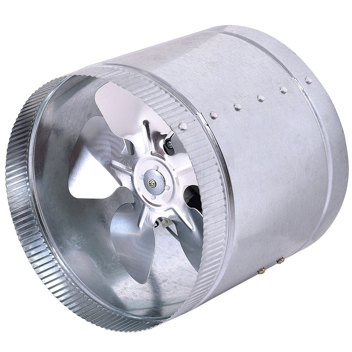 3 Sizes Inline Duct Booster Fan Blower Exhaust Ducting