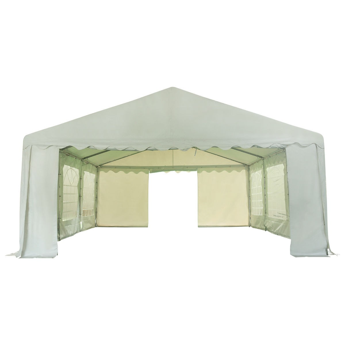 ... Set include One 16u0027 x 20u0027 PVC tent  sc 1 st  eBay & 16u0027 x 20u0027 PVC Heavy Duty Outdoor Garden Home Party Wedding Canopy ...