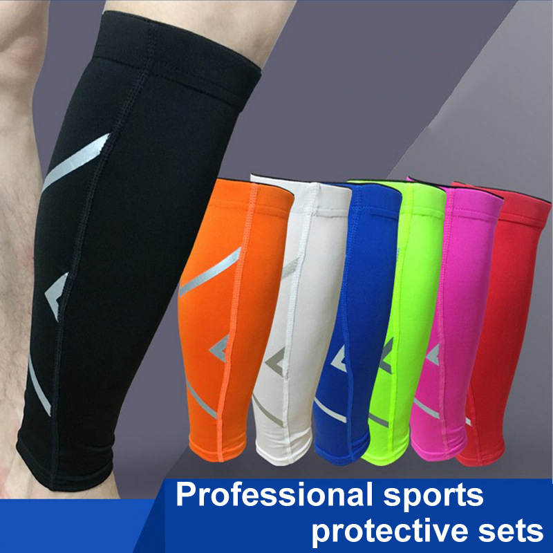 5feacded58 Details about Safety Warmers Breathable Cycling Leg Compression Sleeve Leg  Protection Sports