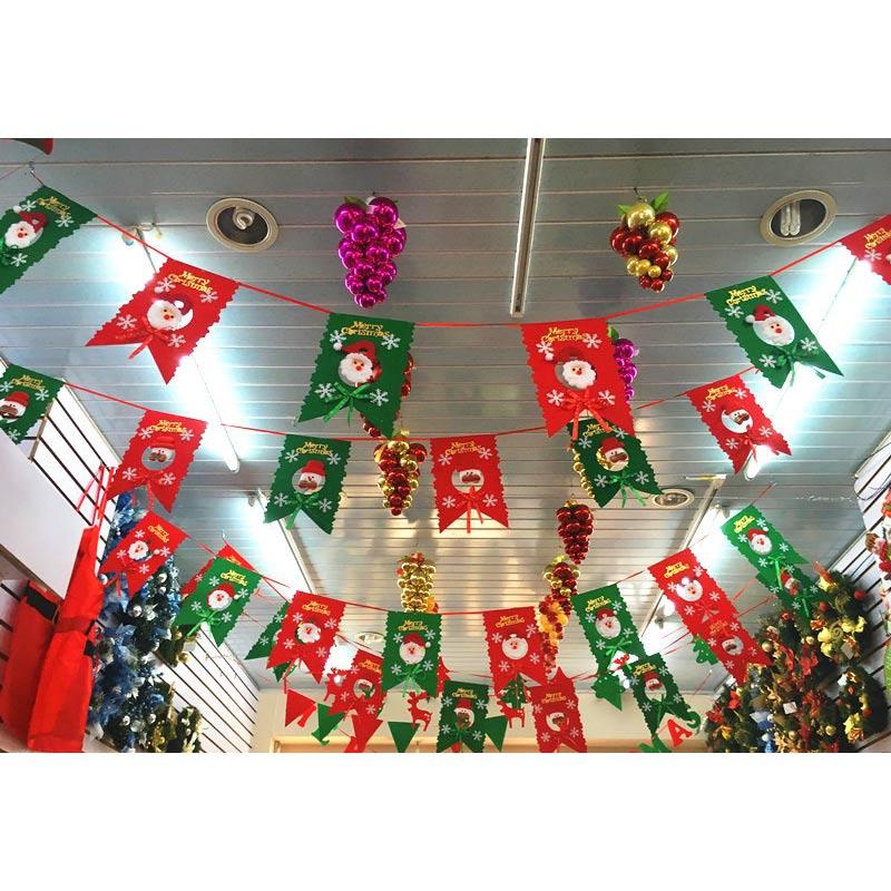 Sass belle madera feliz navidad guirnalda fiesta for Decoracion del hogar en navidad