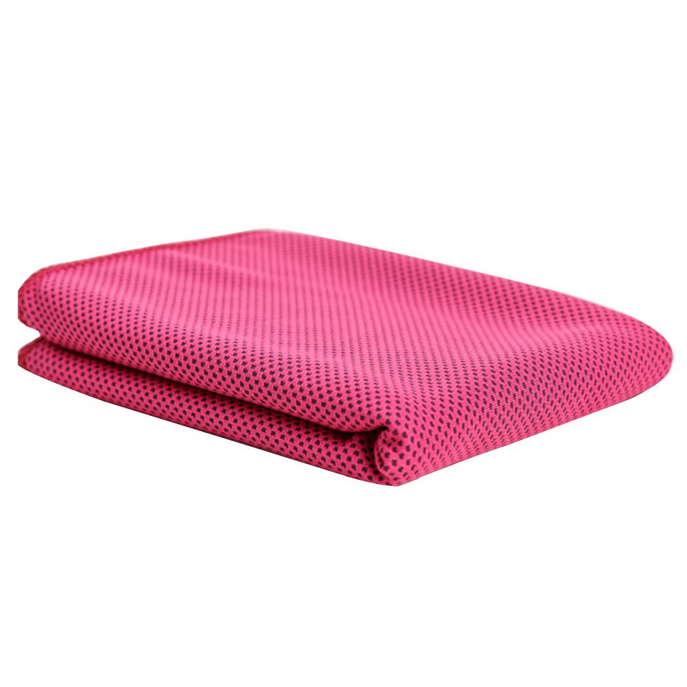 Orange Sweat Towels: Unisex Sport Cooling Towel Sweat PVA Hypothermia Summer