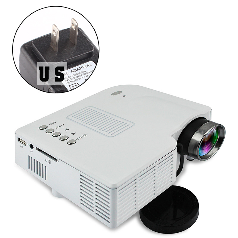 Mini Portable Lcd Multimedia Led Projector Full Hd 1080p: Mini Portable LED LCD Projector Multimedia Home Theater