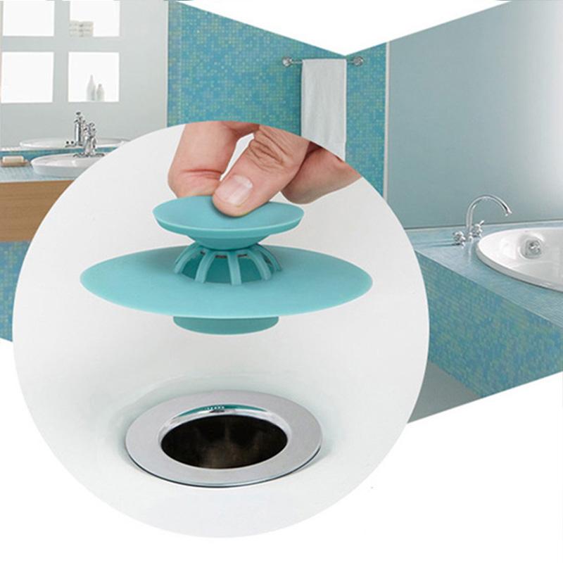 Potable Home Kitchen Drain Stop Sink Stopper Drain Hair ...
