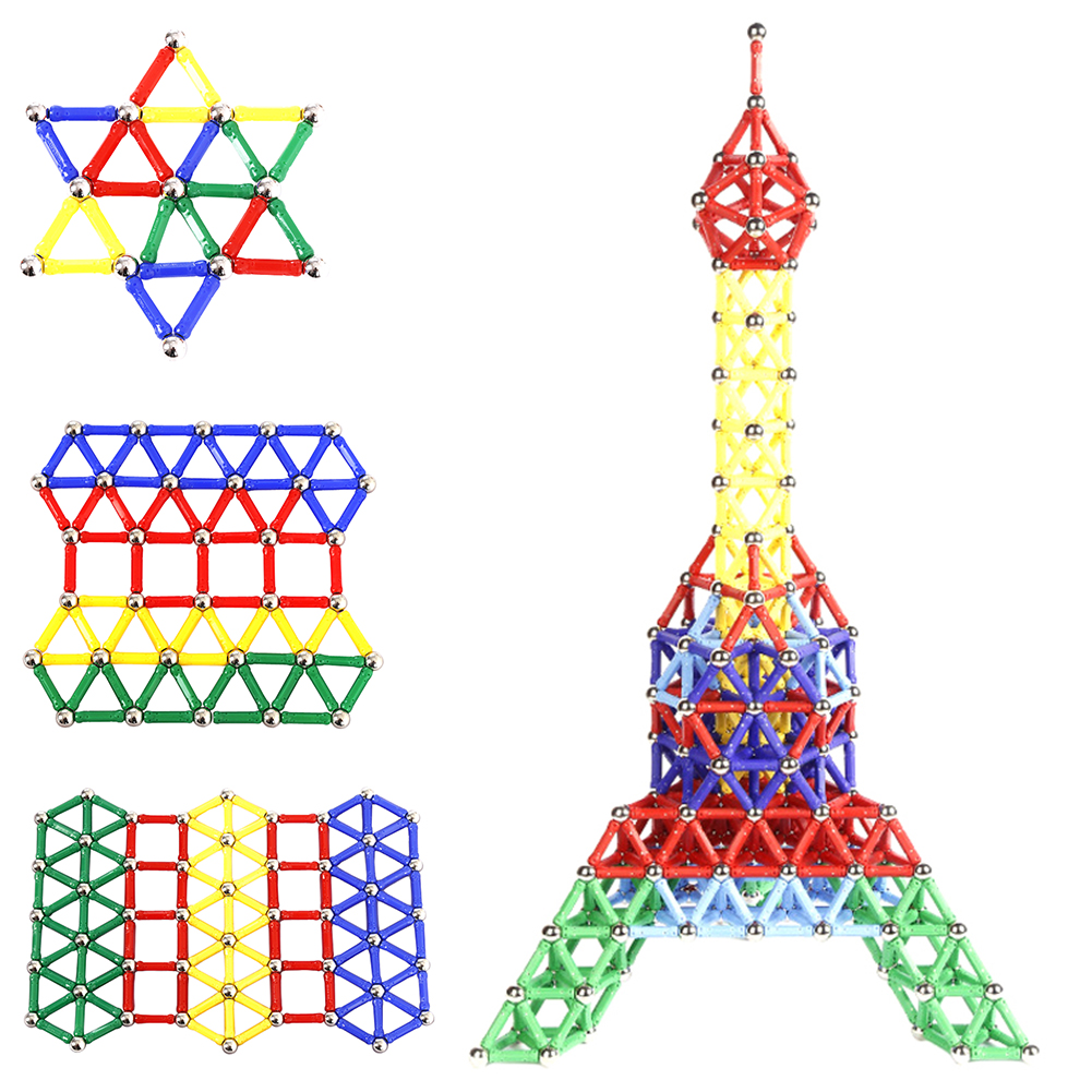 Magnetic Set Building Blocks Car Construction Kit Kid Children Educational Toys