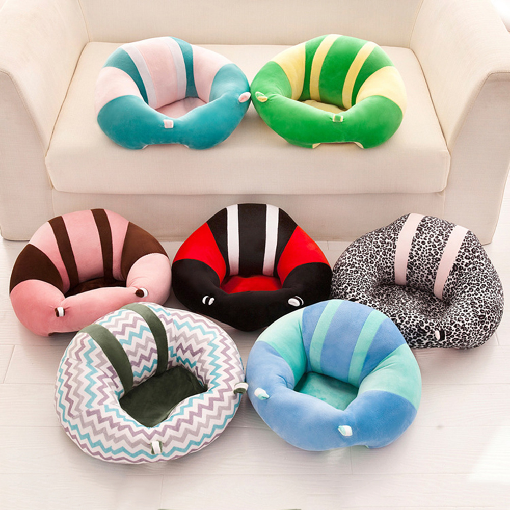 Wondrous Details About Baby Kids Plush Support Seat Sit Up Soft Dining Chair Cushion Sofa Pillow Toys Squirreltailoven Fun Painted Chair Ideas Images Squirreltailovenorg