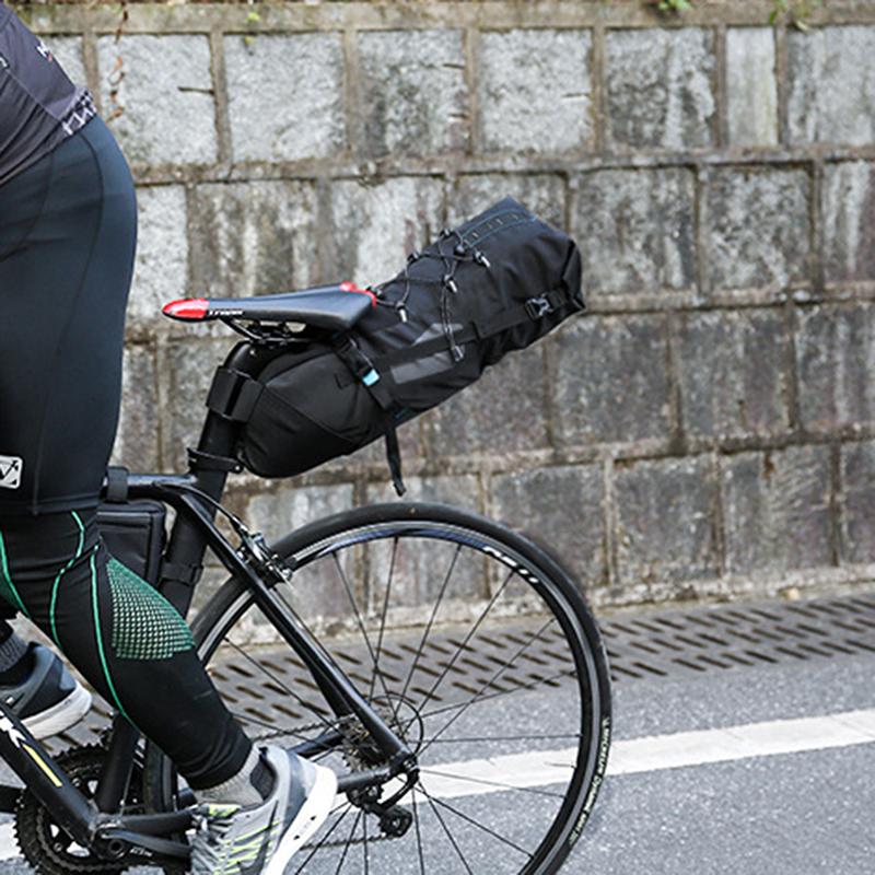 Roswheel 8 10l Cycling Bag Mtb Road Bike Bicycle Rear Seat Saddle