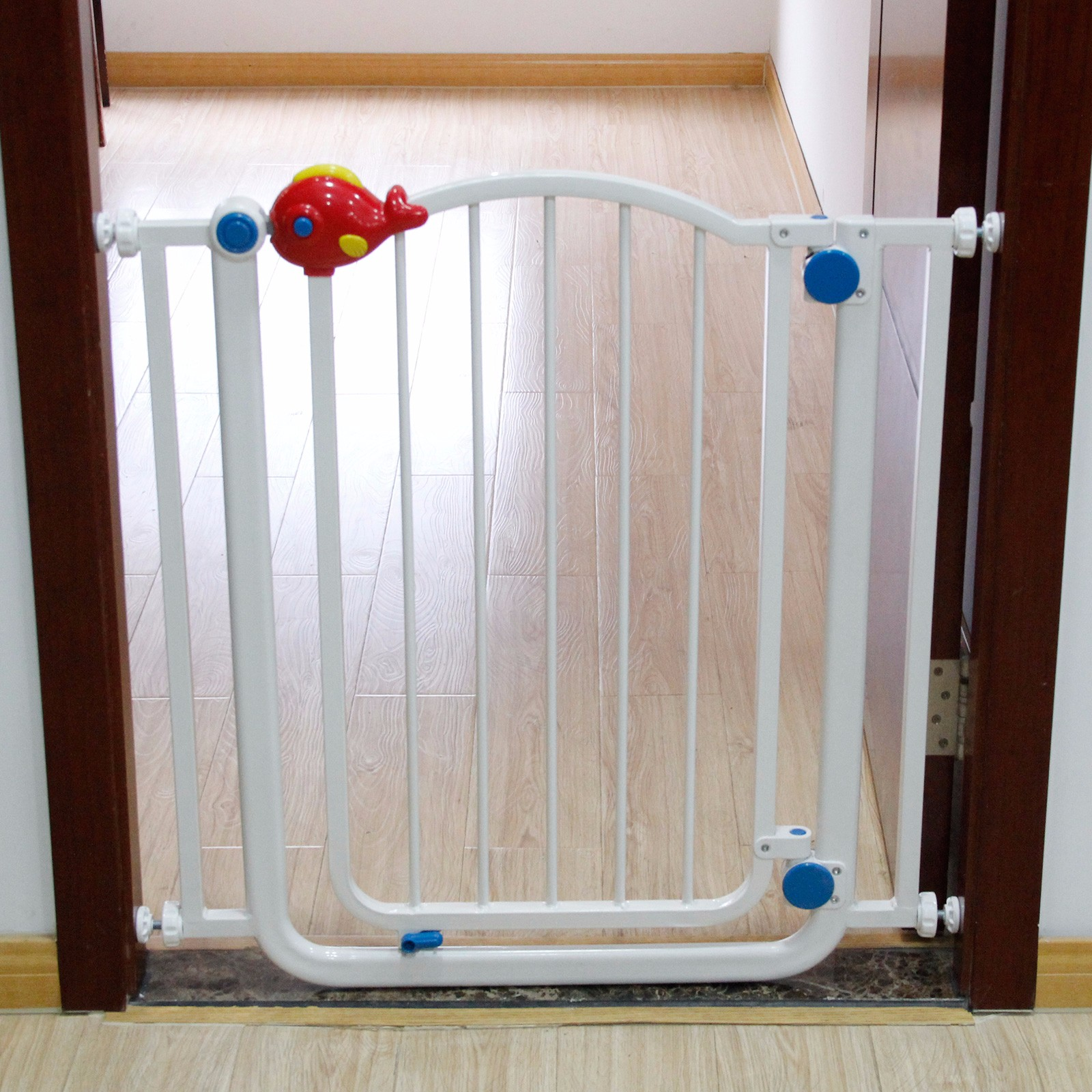 Indoor Dog Gate With Cat Door